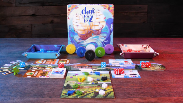 Chai: Tea For 2's Kickstarter Campaign Funded In 7 Hours