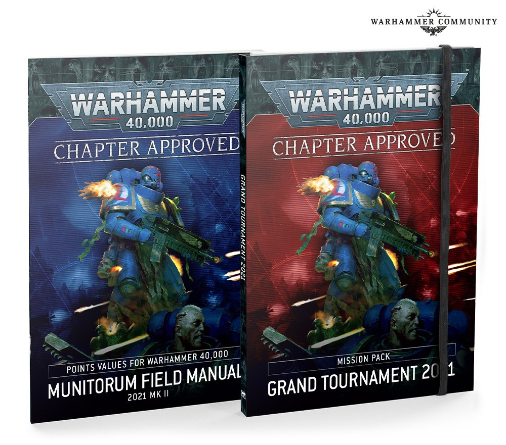 Chapter Approved 2021 - Warhammer 40K