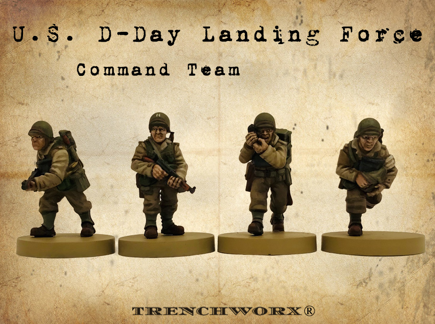 D-Day Command Team - Trenchworx