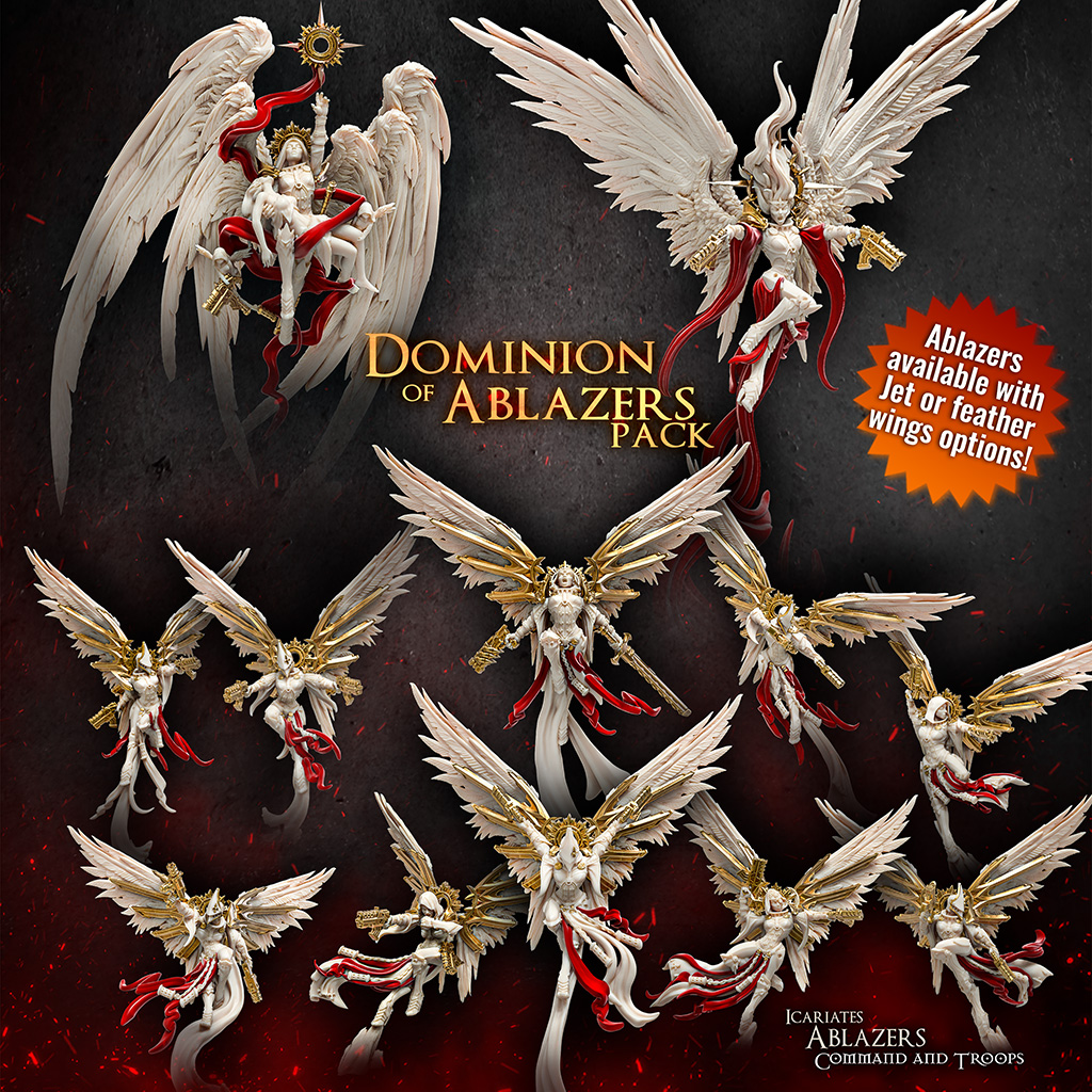 Dominion Of Ablazers Pack - Raging Heroes