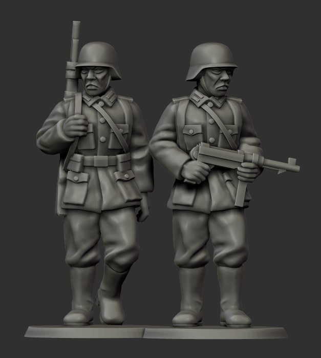 German Sentries - Grey For Now Games