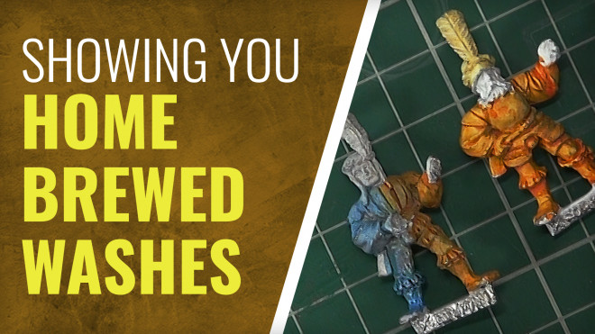 Gerry Can Show You How To Make Your Own Washes!