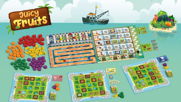 Control Your Exotic Fruit Empire In Board Game, Juicy Fruits
