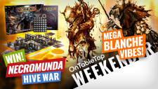 Mega Blanche Vibes In 2 New Grimdark Wargames! Plus WIN Necromunda: Hive War #OTTWeekender