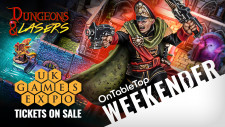 40K Gaunt's Ghosts Better Than Before? UKGE Is On + Dungeons & Lasers Epic RPG Terrain #OTTWeekender