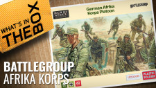 Unboxing: 20mm German Afrika Korps Platoon | Battlegroup