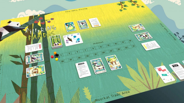Modern Spin On Rummy With Pilfering Pandas Escaping The Zoo!