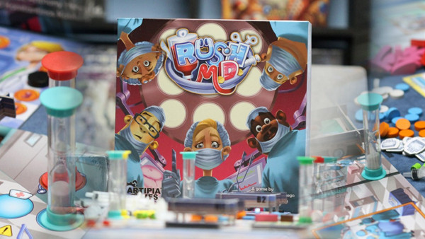 Feel The Tension Of The ER In Board Game Rush M.D