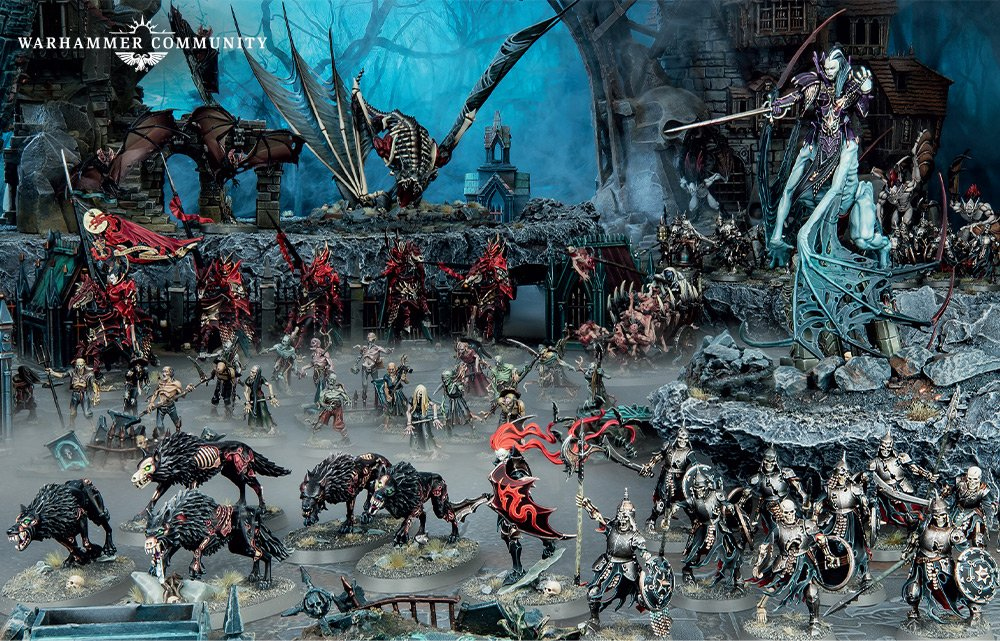 Soulblight Gravelords Scale - Warhammer Age Of Sigmar