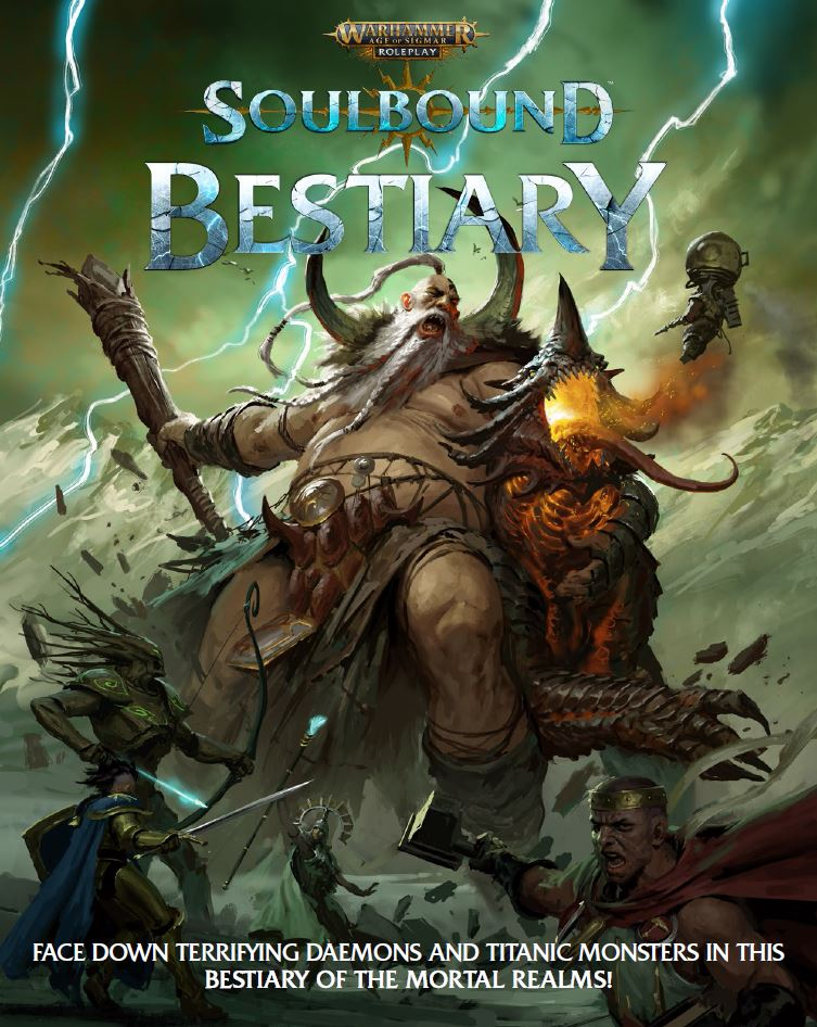 Soulbound Bestiary Cover