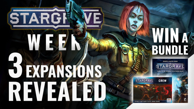 What's Next For Stargrave? Free Solo Rules & 3 New Expansions Revealed! #StargraveWeekOTT