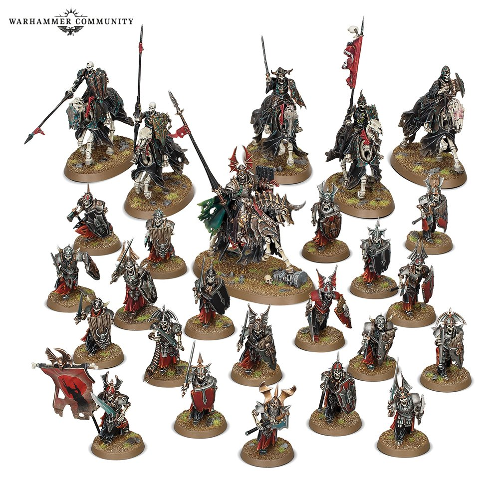 Start Collecting Soulblight Gravelords - Warhammer Age Of Sigmar