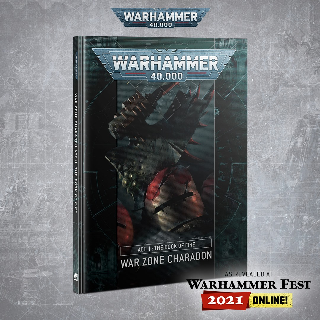 The Book Of Fire - Warhammer 40K