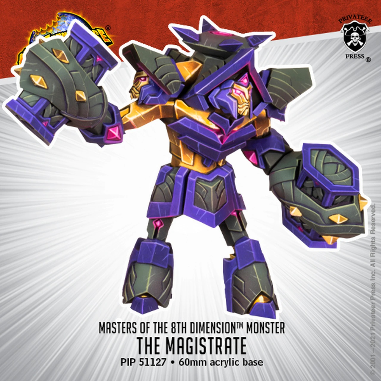 The Magistrate - Monsterpocalypse