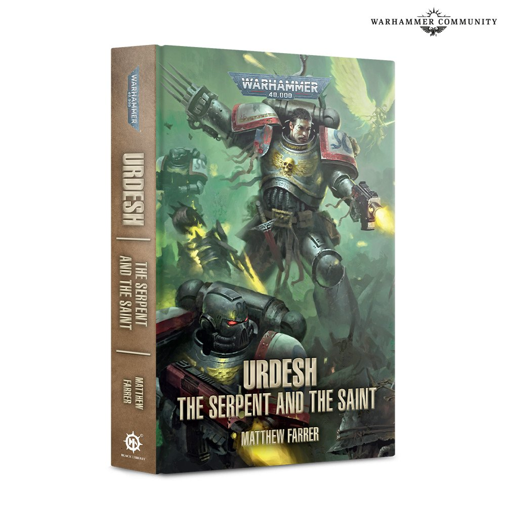 Urdesh The Serpent And The Saint - Black Library
