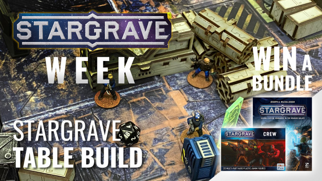 Building The Perfect Stargrave Table With Your Sci-Fi Terrain #StargraveWeekOTT