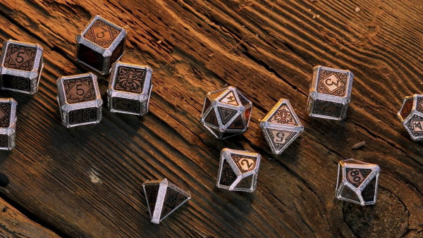 Toss A Die For Your Witcher: The Official Witcher Hybrid Dice Set!