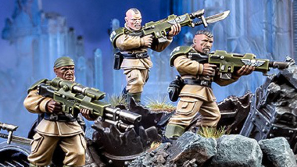 Warhammer 40,000's Cadian Shock Troops Get A New Look!