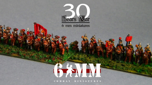 Combat Miniatures Showcase 6mm Сavalry Of The Thirty Years' War
