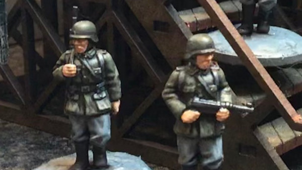Snag Grey For Now's Free German Sentries For 02 Hundred Hours