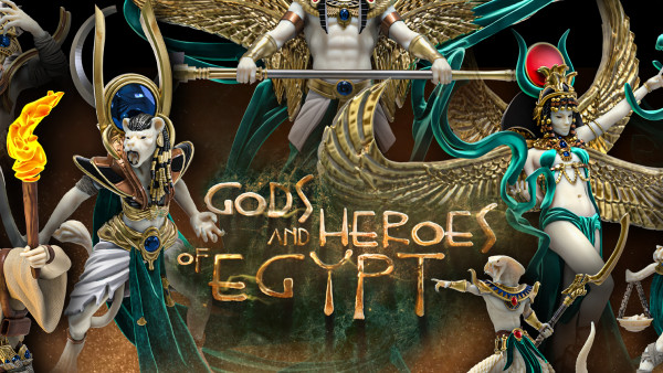Epic! Raging Heroes' Overlord Tier For Gods & Heroes Of Egypt