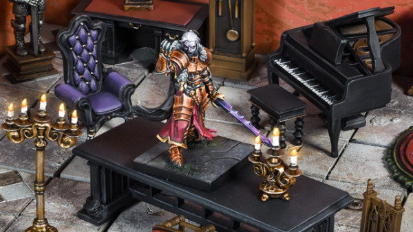 Build A Gothic Mansion With Mantic's TerrainCrate Sets