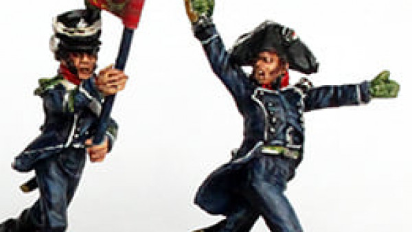 The Perry Twins Release New Napoleonic French Light Infantry