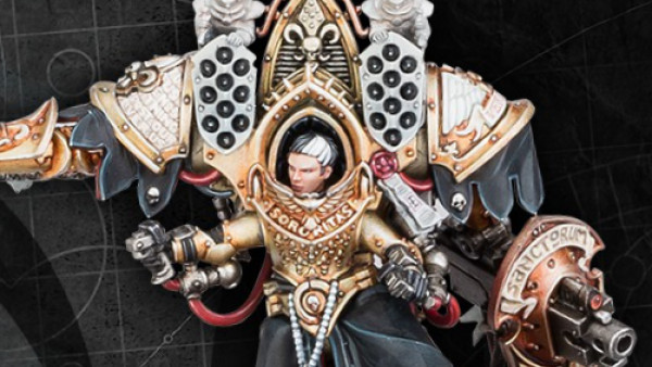 A High Lord Of Terra Joins The Fray In Warhammer 40K