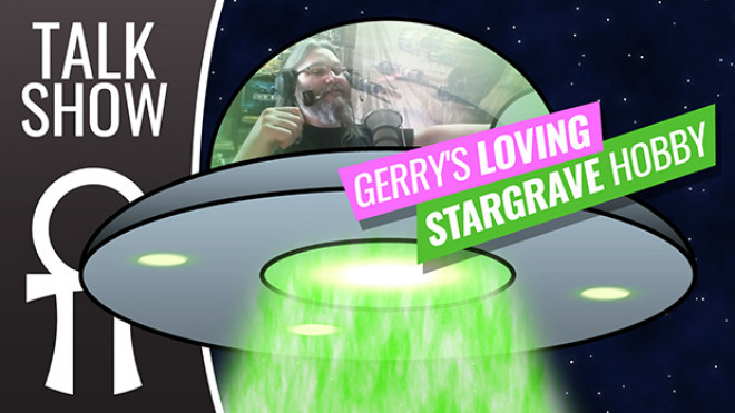Cult Of Games XLBS: Gerry's Loving Stargrave Hobby & We Check Out The Most Important Historical Discovery Ever!