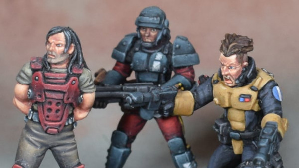 Snag Sci-Fi Bounty Hunters From Antediluvian Miniatures