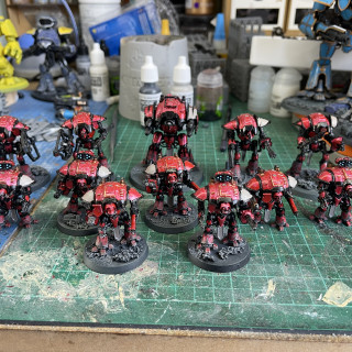 Nearly finished the bases