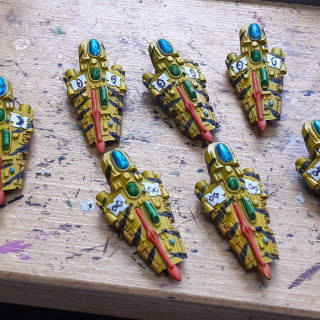 Falcons and wave serpents done.