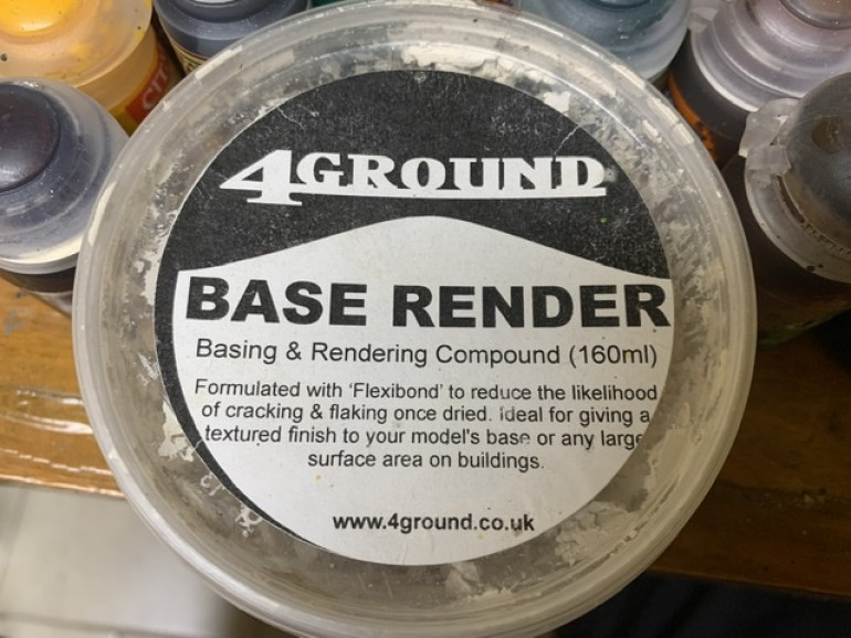 I applied this with a small flat artists knife normally used for artists oil paint.