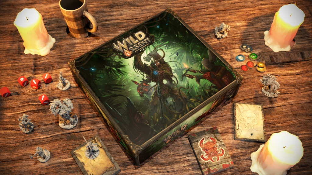 Wild Assent Core Box - Lazy Squire Games