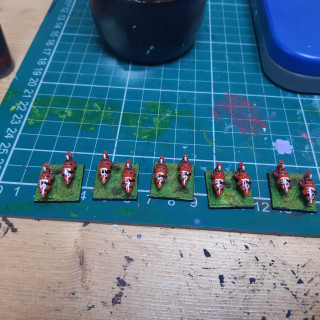 Rangers and Jet bikers ready for varnishing