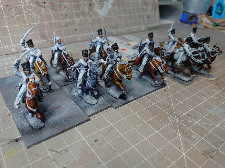 Heres some work in progress Prussian Hussars