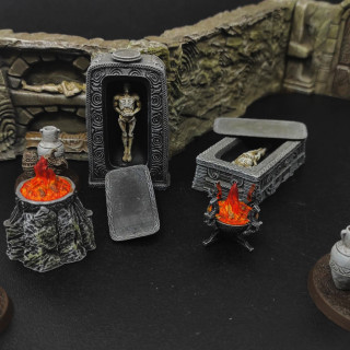Dungeon Terrain Expansion and some Adversary Encounters