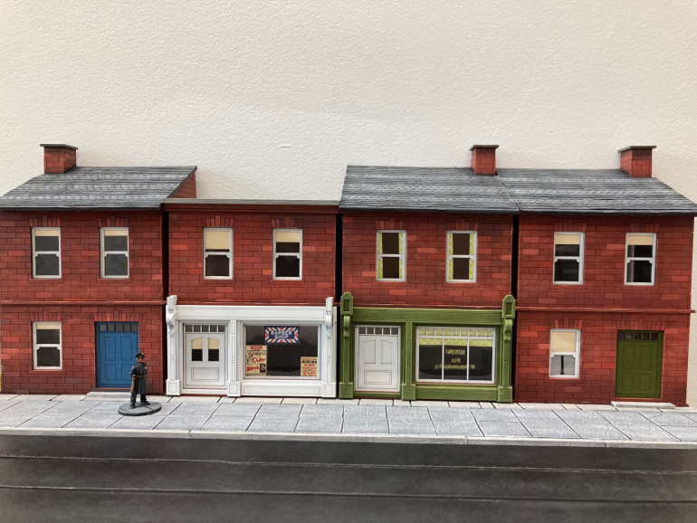 Low Relief Block is Game ready. I know there is more detail I could add to the street.