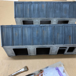 Roof and Warehouse Sides