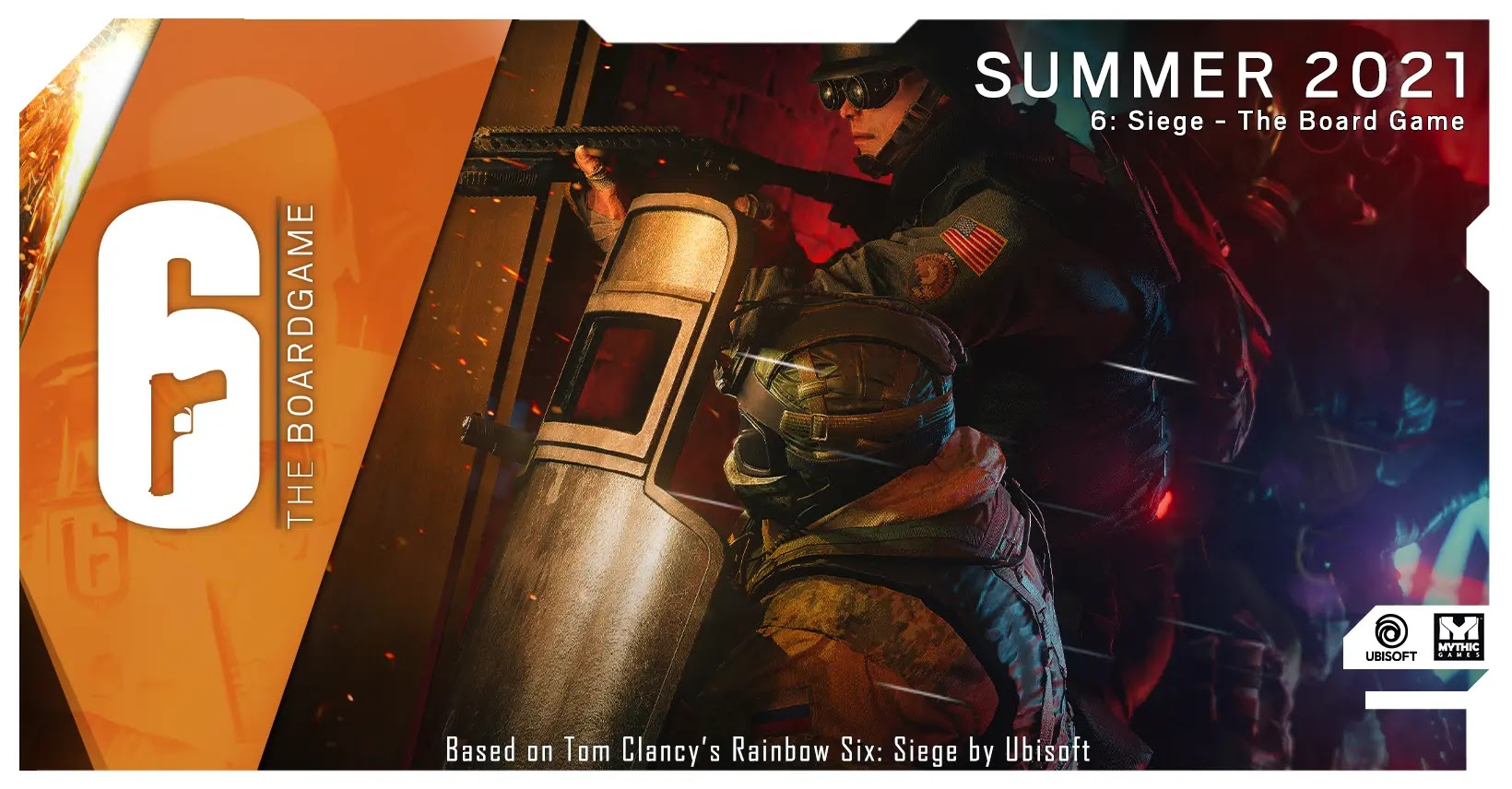 6 Siege The Board Game - Mythic Games JUNE