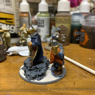 Final details and painting tactical rocks