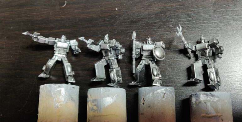 Starting from the metal basecoats