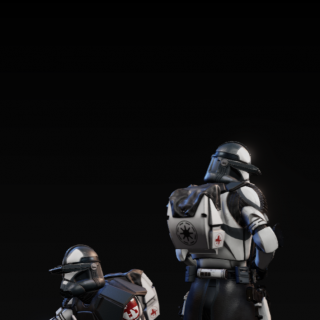 Possible Ideas for Painting the 104th Clone Commander
