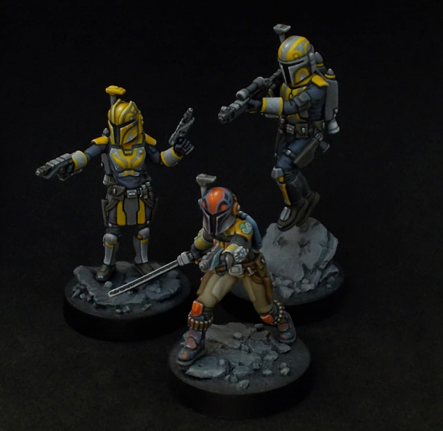 A family photo of the Wrens availabe for Star Wars Legion