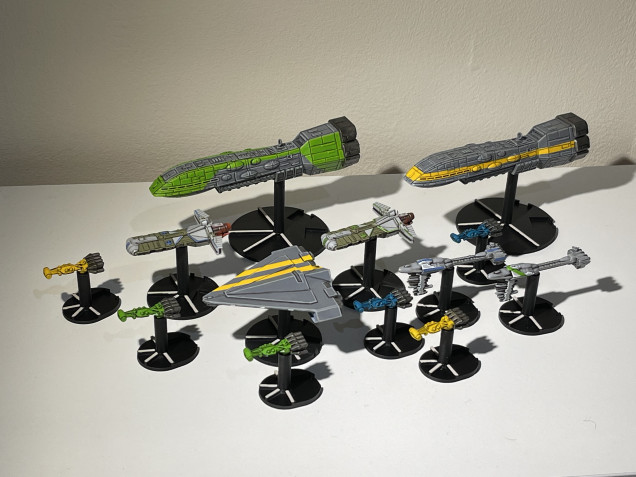 Capital Ships Completed