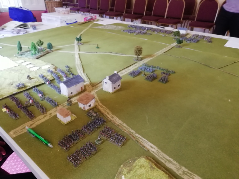 Wellington and his allies prepare to hold their ground.
