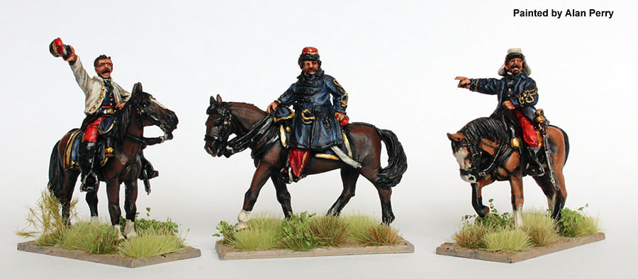 Argentine Mounted Officers - Perry Miniatures