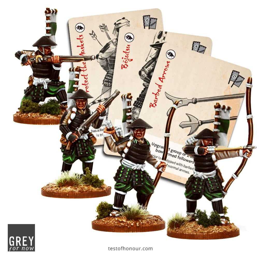 Ashigaru With Spears & Muskets - Test Of Honour