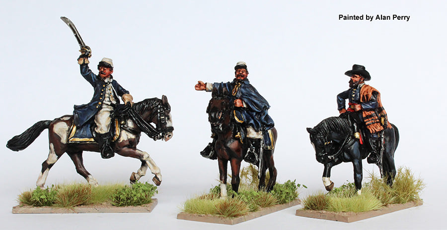 Brazilian Mounted Officers - Perry Miniatures