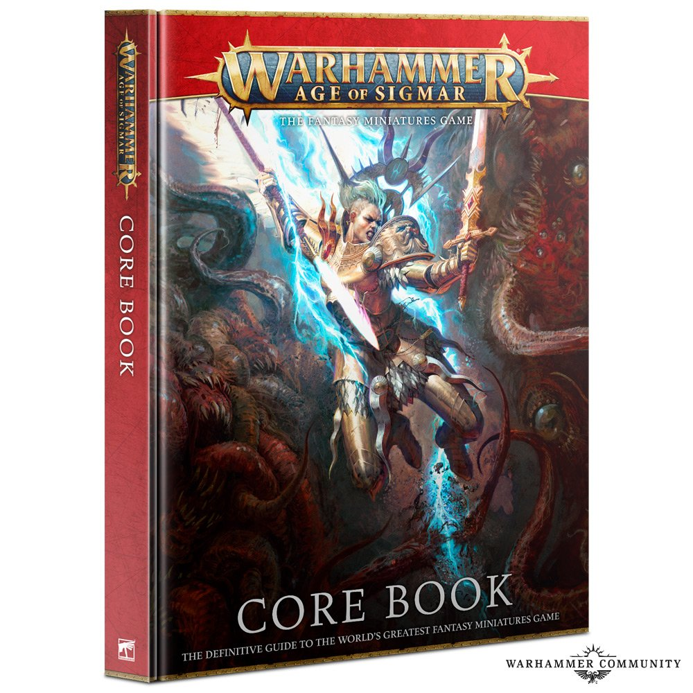 Core Book - Age Of Sigmar JUNE NEW